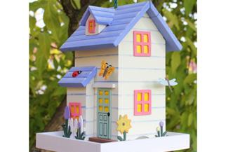 Privítajte spevavcov na vašej záhrade do nového bývania!